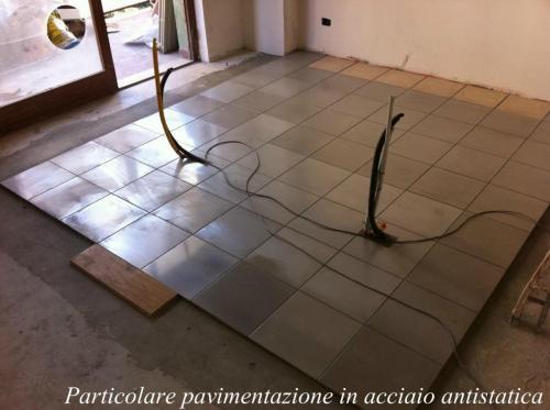 pavimentazione in acciaio